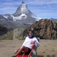 F:DCIM100NIKON�8-2004 Matterhorn from Riffelberg.JPG