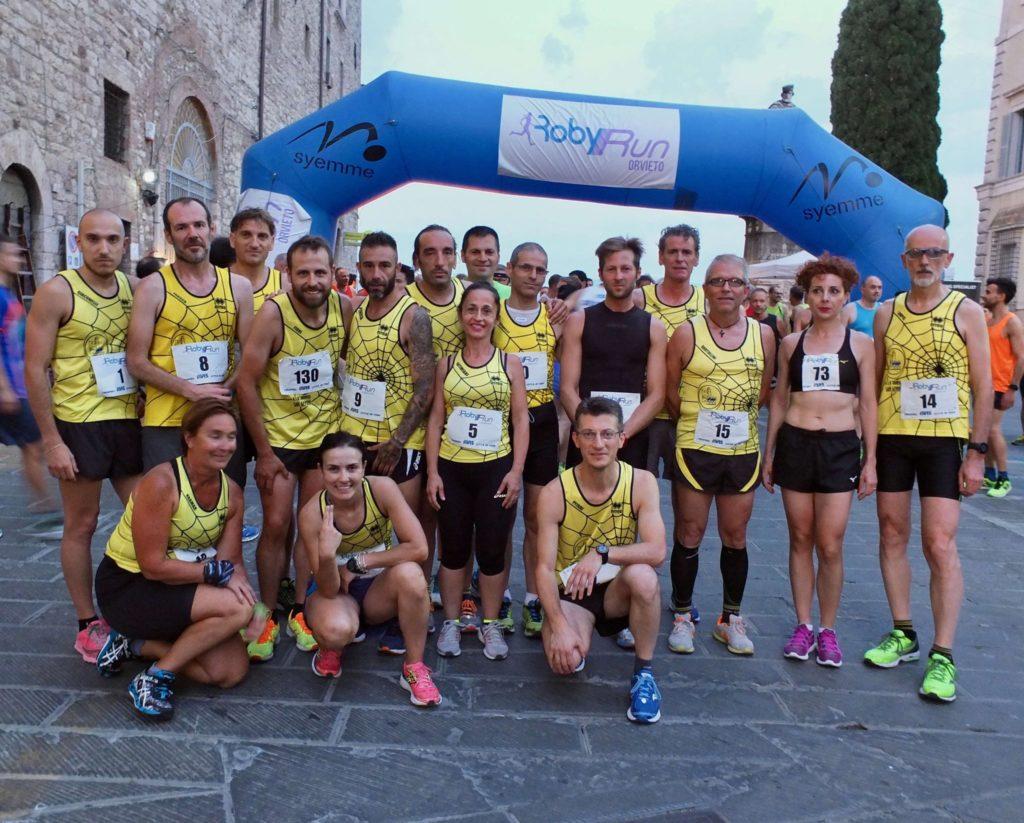 Runners a Todi