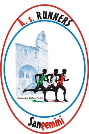 """Logo A.S.D. """"Runners"""" San Gemini - Design: Stefano Ferri www.stefanoferri.net"""